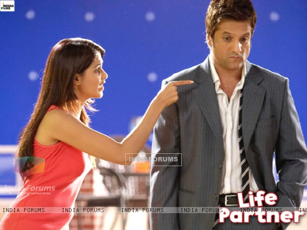 Life Partner wallpaper with Fardeen and Genelia
