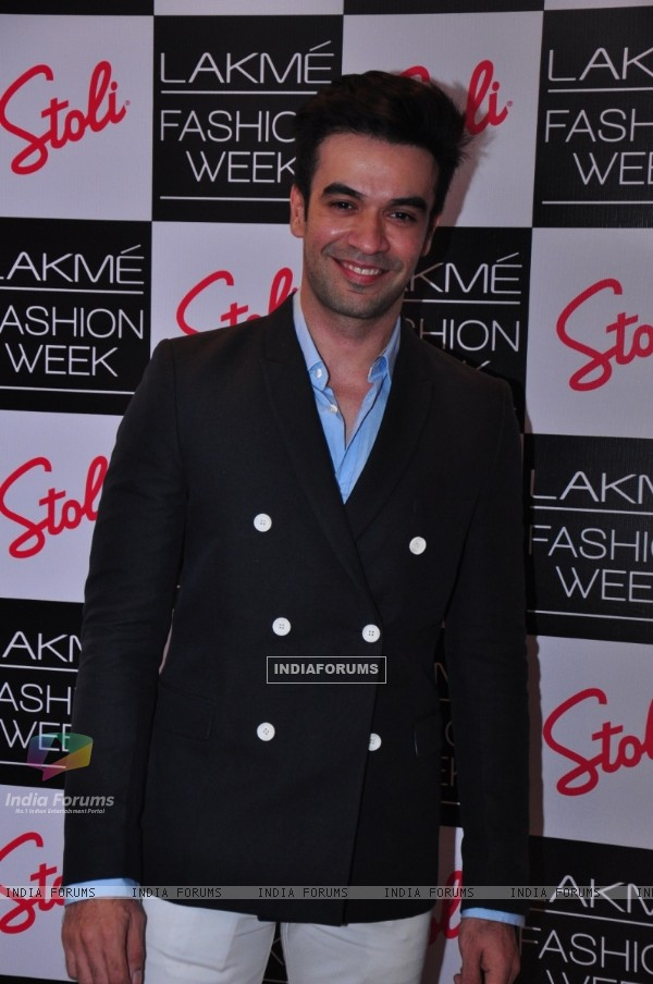 Punit Malhotra was seen at the Stoli Lounge at Lakme Fashion Week