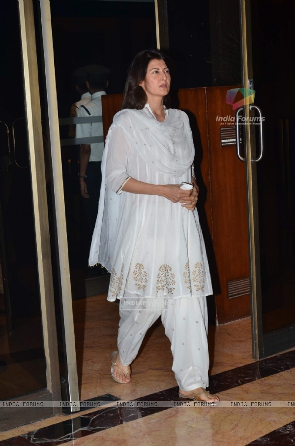 Sangeeta Bijlani was at the Sanjeev(Bobby) Chawla's Prayer Meet