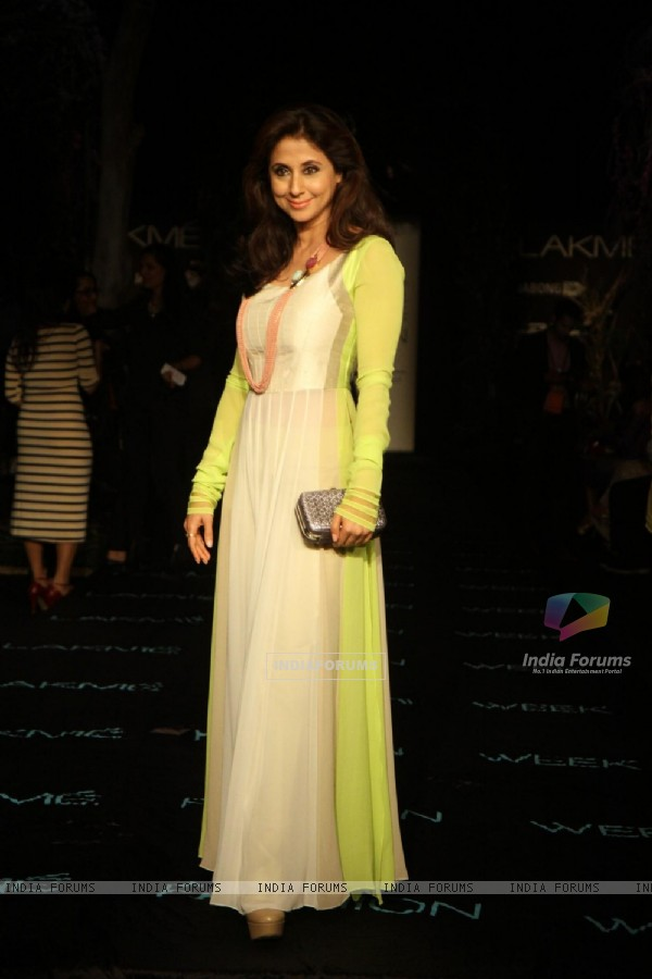 Urmila Matondkar was seen at Lakme Fashion Week Summer Resort