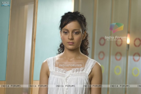 Kangna Ranaut looking depressed