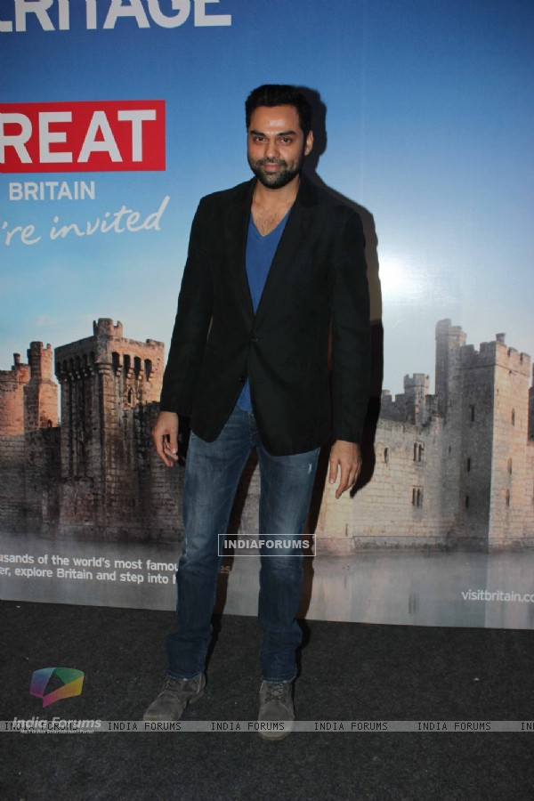 Abhay Deol at the launch of the Bollywood themed travel app by VisitBritain