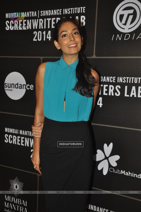 Monica Dogra was at 3rd Annual Mumbai Mantra Sundance Institute Screenwriter's Lab