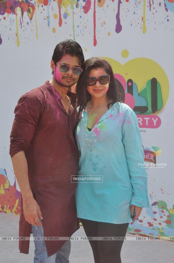 Sambhavna Seth was at the Zoom Holi Party