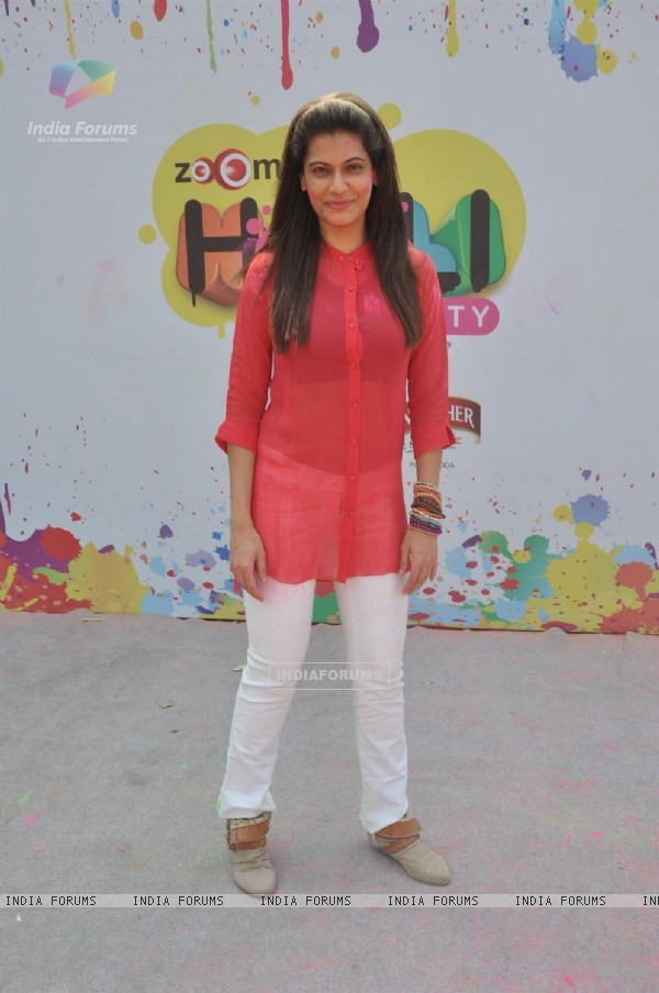 Payal Rohatgi at the Zoom Holi Party