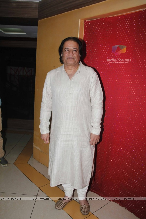 "Anup Jalota at the Launch of the Ghazal Album ""Kuchh Dil Ne Kaha"""
