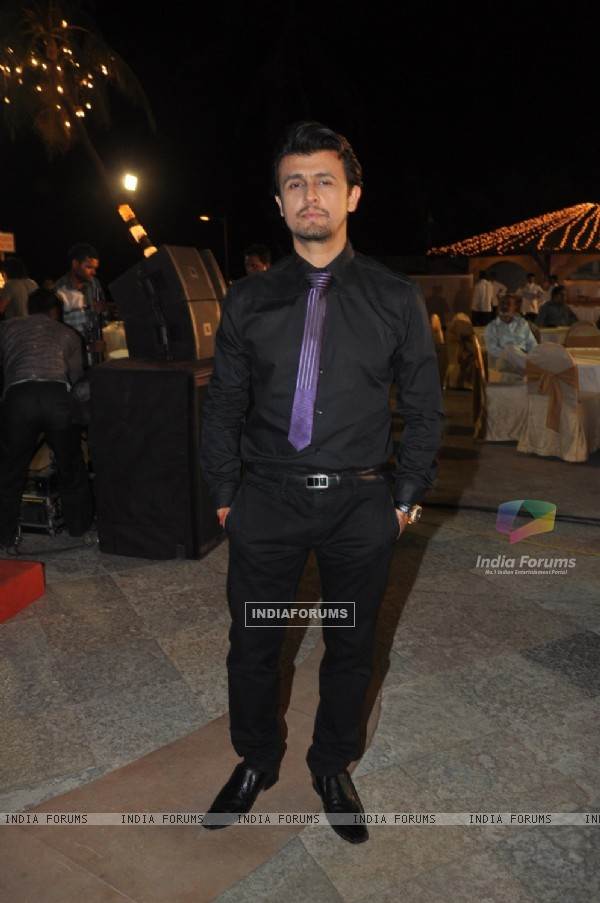 Sonu Nigam at the Music Launch of 'Jal'