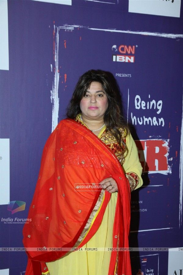 Dolly Bindra was at the Campaign for 'VEER'