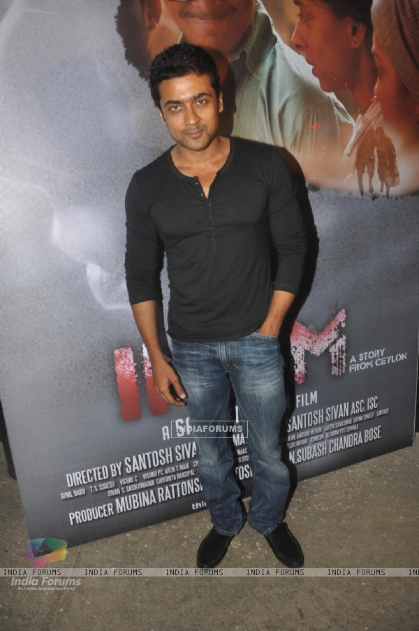 South star Suriya at the Screening of Sri Lankan Film 'Inam'