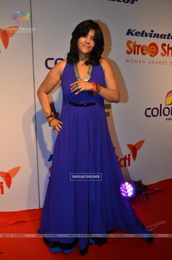 Ekta Kapoor was seen at Stree Shakti Awards