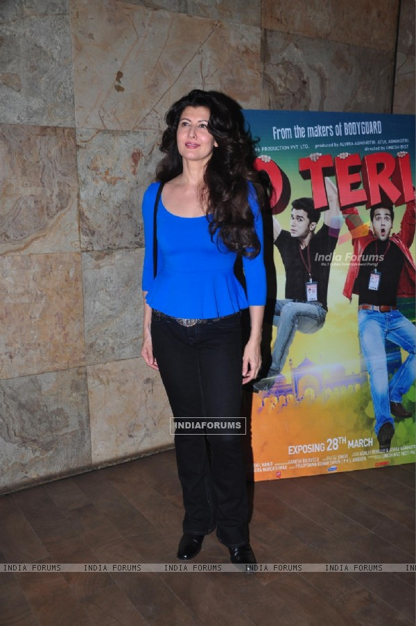 Sangeeta Bijlani was at the Special screening of O Teri