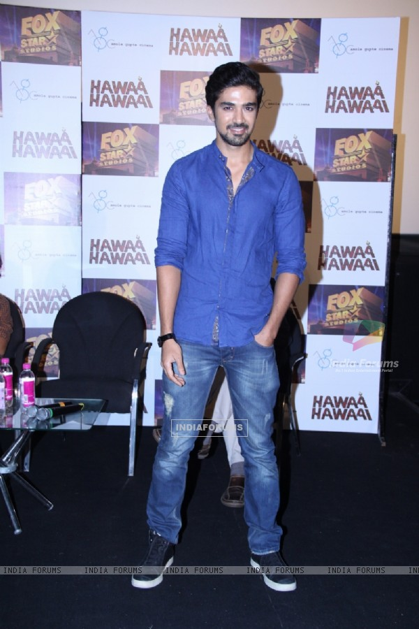 Saqib Saleem was seen at the Trailer launch of Hawaa Hawaai