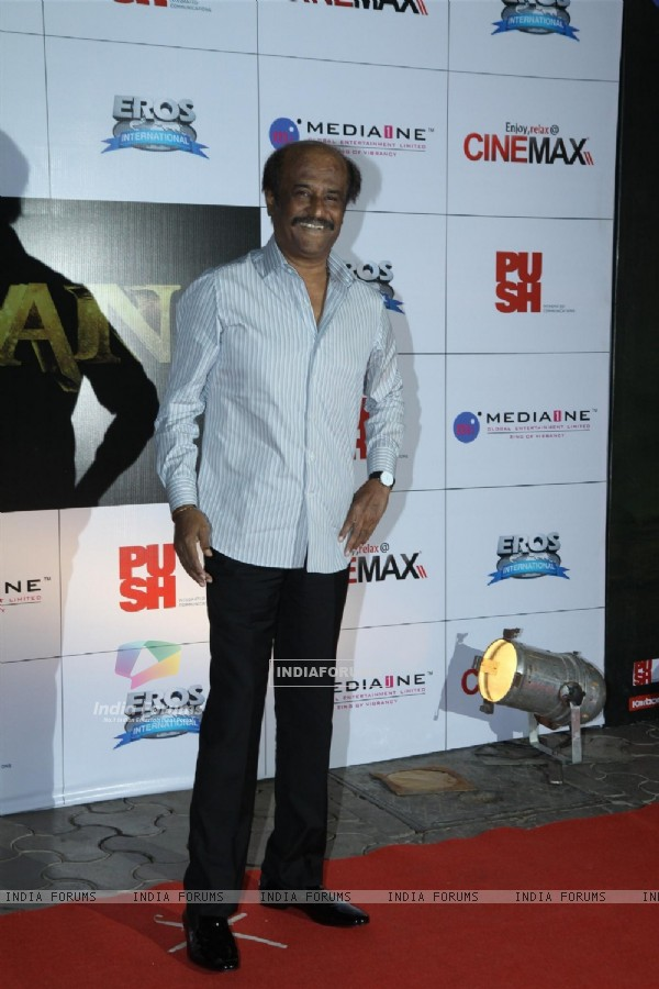 Rajinkanth at the launch of Kochadaiyaan first look