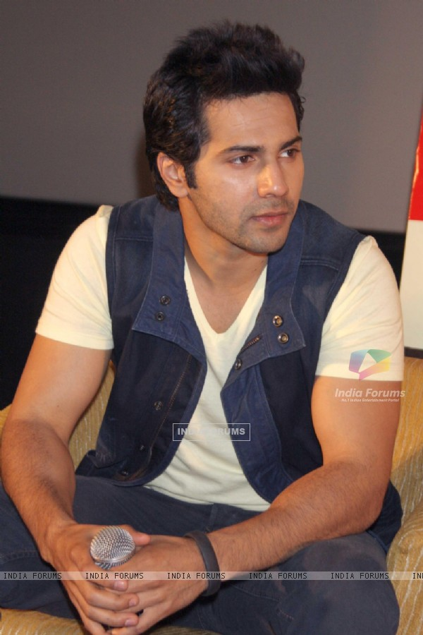 Varun Dhawan at the Press Conference to promote their upcoming film 'Main Tera Hero'