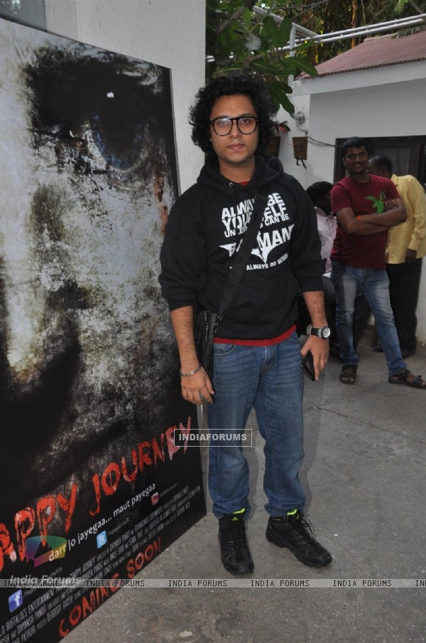 Divyansh Pandit at the First Look launch of Happy Journey