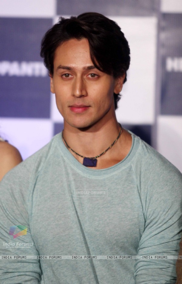 Tiger Shroff at the Trailer launch of Heropanthi