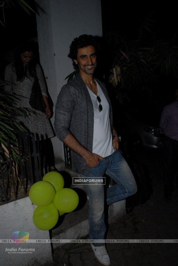 Kunal Kapoor was seen at Avantika Malik's Baby Shower