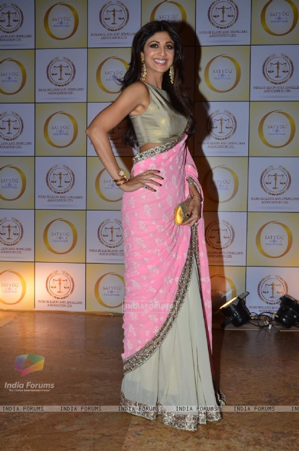 Shilpa Shetty was seen at the Launch of 'The Golden Era in India'