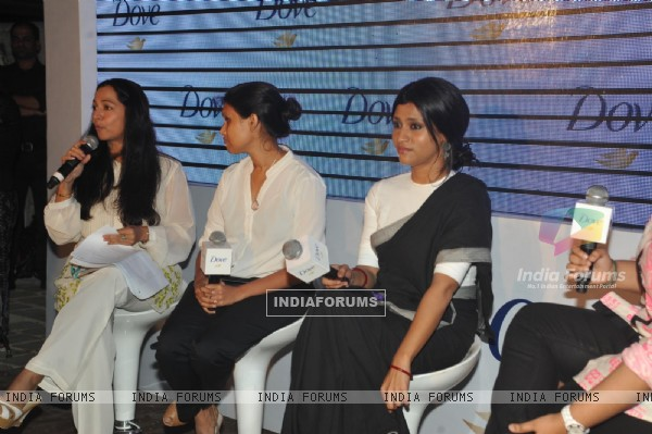 Konkona Sen Sharma at Dove Beauty Patch experiment panel discussion