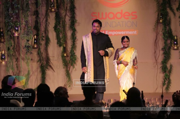 Leander Paes was seen at Swades Foundation Fundraiser