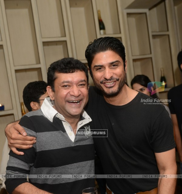 Ken Ghosh and Vikas Bhalla were at the Launch party of a new mobile news-tracker application Pipes