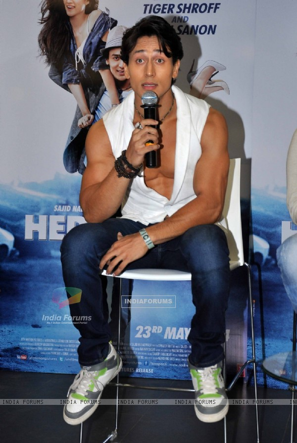 Tiger Shroff 'Whistle Bajja' song launch