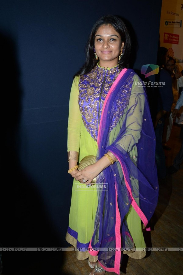Tejaswini Kolhapure at the 72nd Master Deenanath Mangeshkar Awards