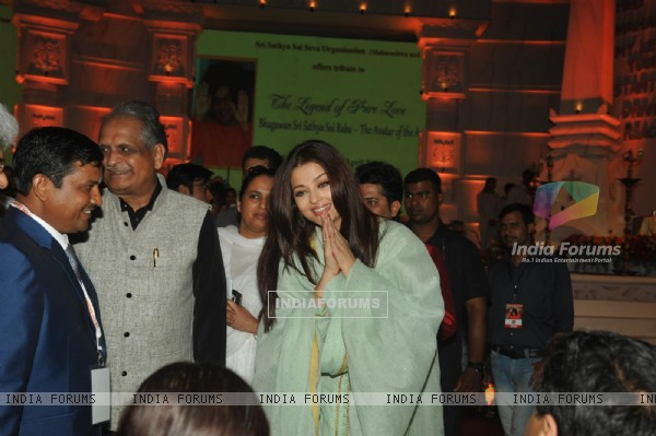 Aishwarya Rai at the Tribute to the Legend of Pure Love concert
