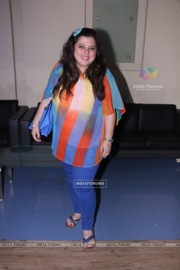 Delnaaz Irani was at Kishori Shahane's Birthday Party