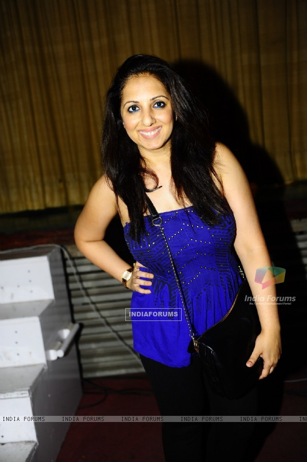 Munisha Khatwani was seen at the Premiere of the play 'Hum Do Hamare Woh'