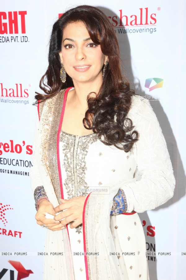 Juhi Chawla at the Dada Sahib Phalke Awards