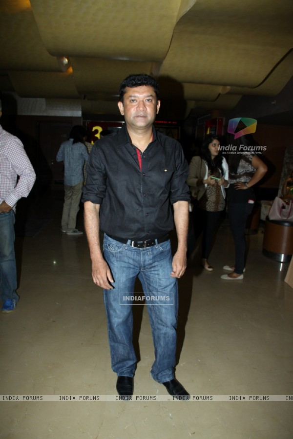 Ken Ghosh was seen at the Screening Of Yeh Hai Bakrapur