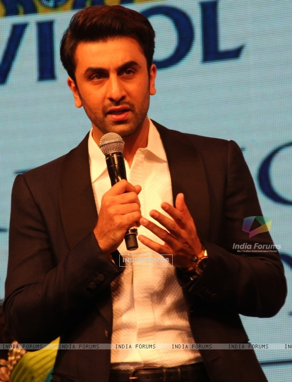 Ranbir Kapoor at 'Caring with Style' fashion show at NSCI