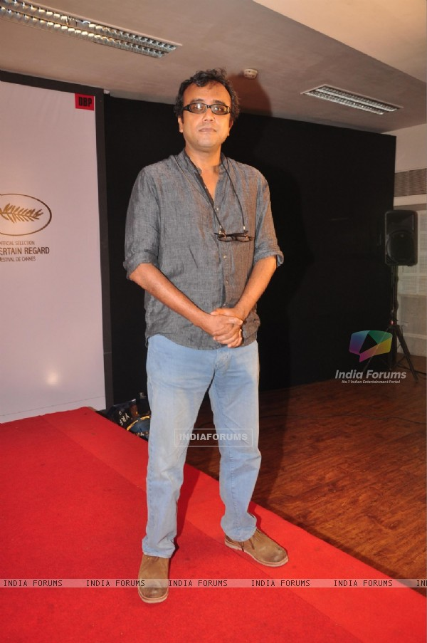 Dibakar Banerjee at the Press Conference for Titli heading for Cannes
