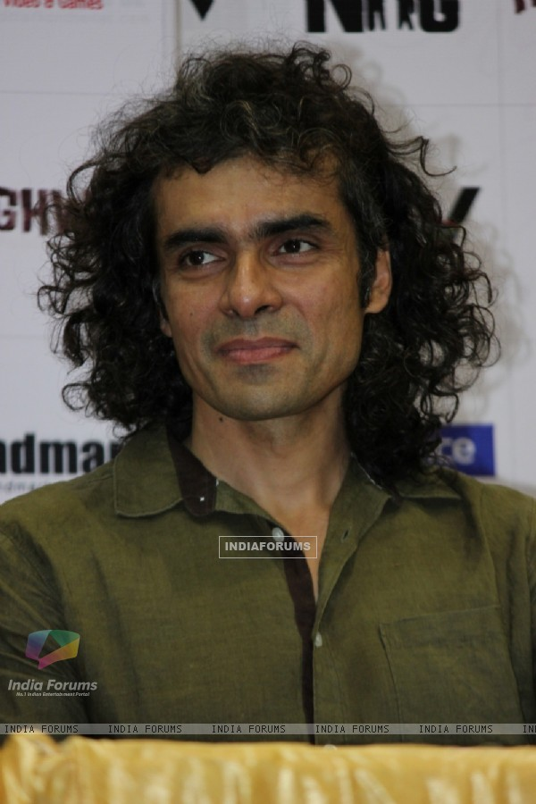 Imtiaz Ali was at the Highway DVD launch