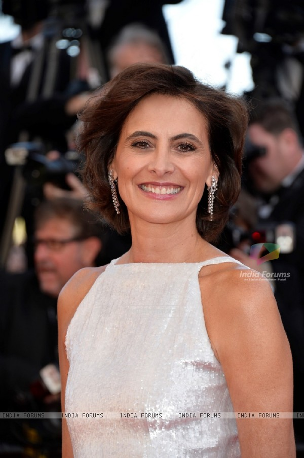 Ines de la Fressange at Cannes Film Festival