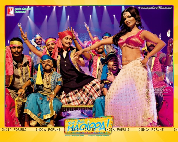 Dil Bole Hadippa movie wallpaper with Rakhi Sawant