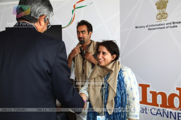 Titli Team felitated at the FICCI event at Cannes