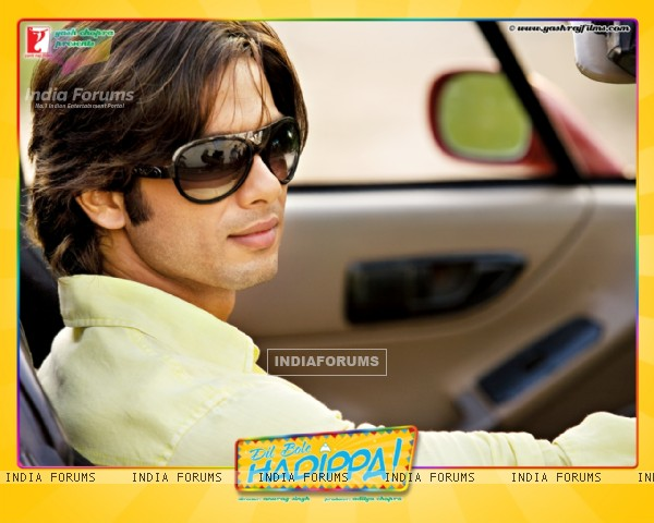 Wallpaper of Shahid Kapoor from the movie Dil Bole Hadippa
