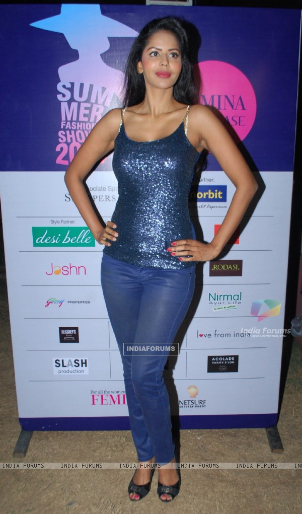 Bhairavi Goswami at the Femina Festive Showcase May 2014