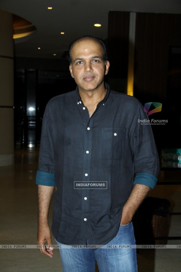 Ashutosh Gowarikar at the First look launch of Unforgettable