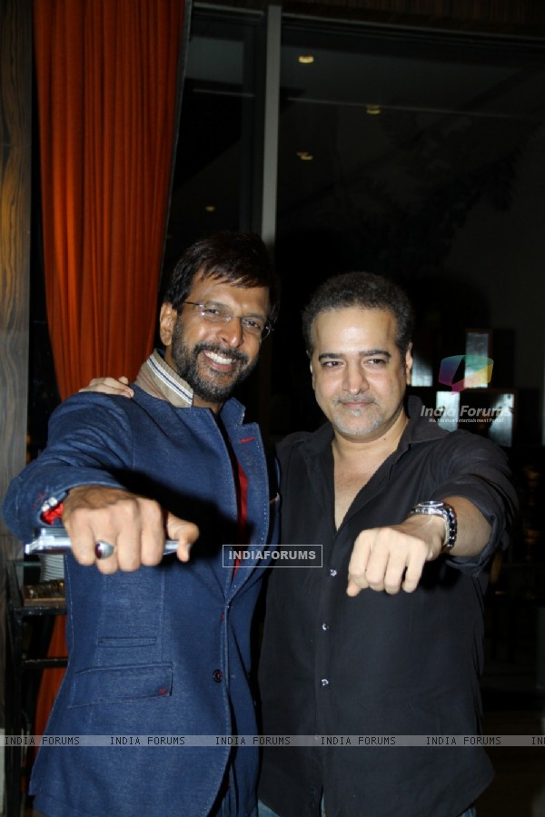 Javed Jaffery and Ravi Behl at the First look launch of Unforgettable