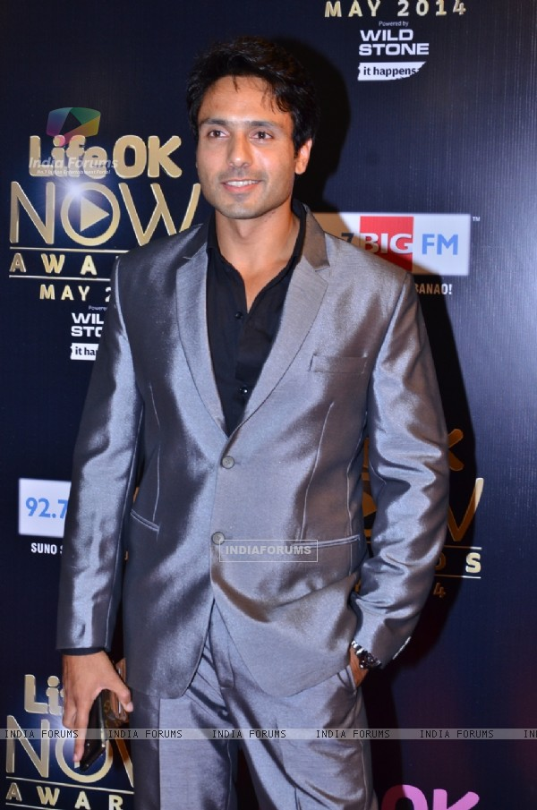 Iqbal Khan at the Life OK Now Awards