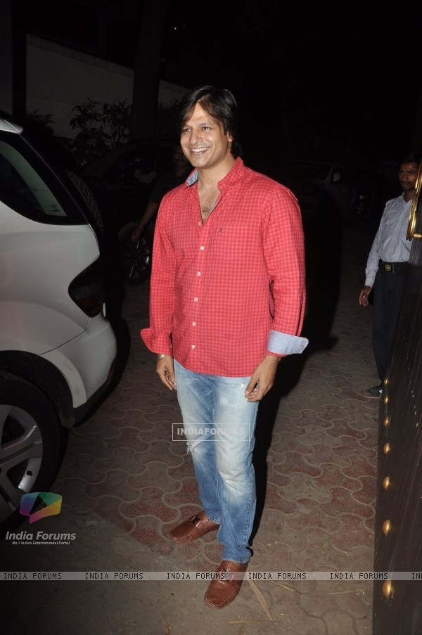 Vivek Oberoi at Shilpa Shetty's Birthday Bash for her Son