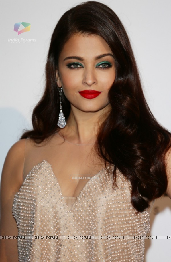 Aishwarya Rai at the Gala at Cannes