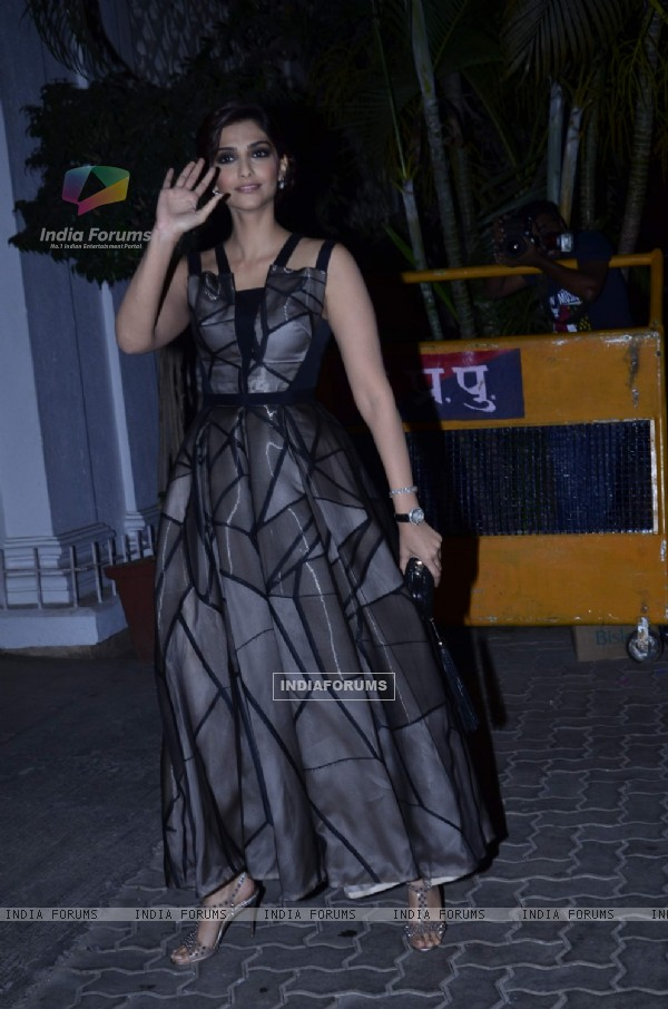 Sonam Kapoor at Karan Johar's Birthday Bash