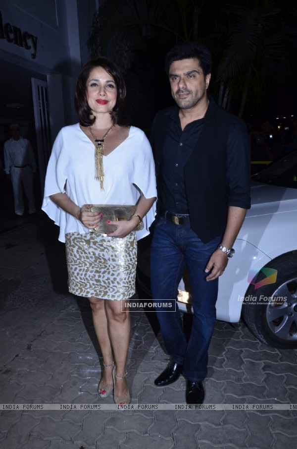 Sameer Soni and Neelam Kothari at Karan Johar's Birthday Bash