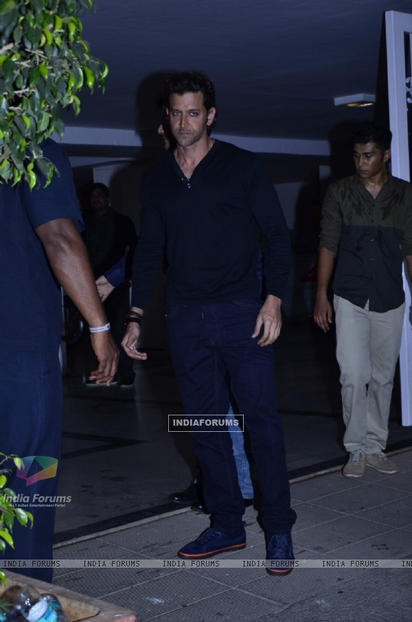 Hrithik Roshan at Karan Johar's Birthday Bash