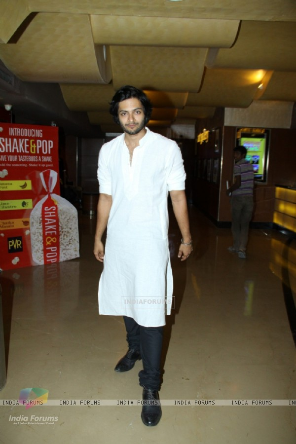Ali Fazal at the Trailer Launch of 'Bobby Jasoos'
