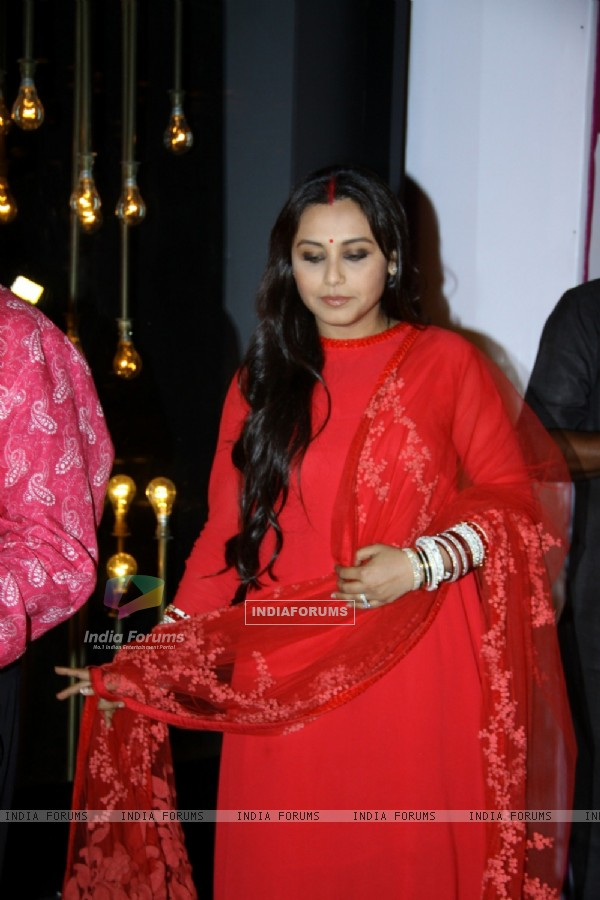Rani Mukherjee at the Launch of India's First Cinema-inspired fashion brand Diva'ni